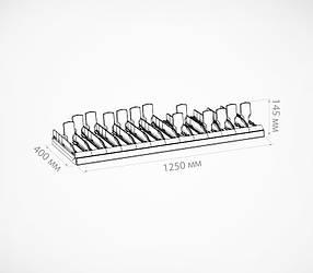 Комплект з 13 лотків для плиткового шоколаду. CHOCO-TRAY-SET13-200902, фото 2