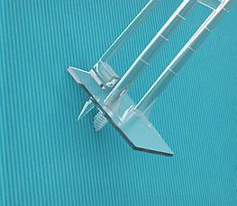 Гачок для кріплення в картон прозорий DOUBLE HOOK-TCR-254419, фото 2