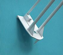 Крючки для крепления в картон с держателем ценника HOOK-PH-CR-254394, фото 2