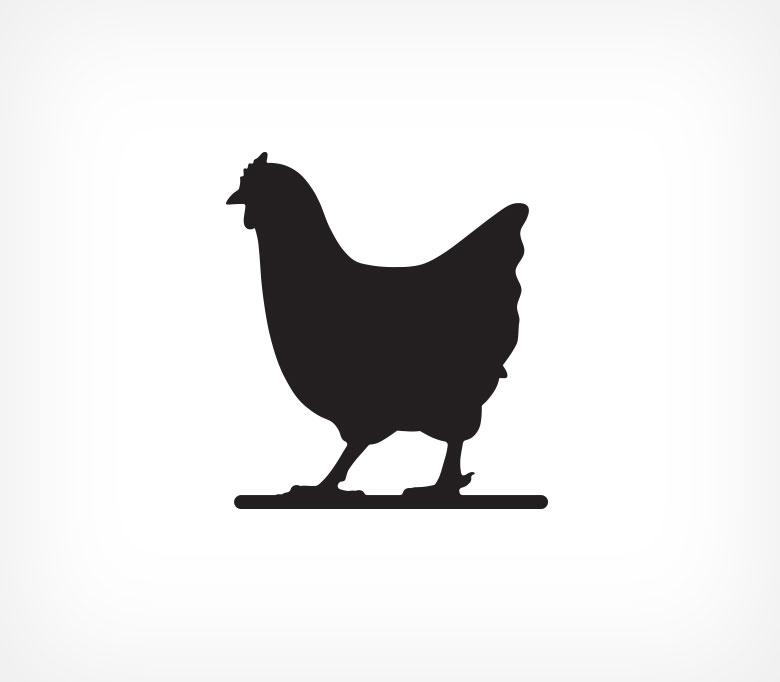 Меловая табличка «Курица» BB CHICKEN-204113
