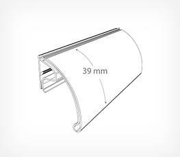 Ценникодержатель для проволочных полок и панелей до 1,5 мм KEC39-195429, фото 3