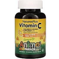 Витамин C для детей Animal Parade, Nature's Plus, (90 шт.), фото 1