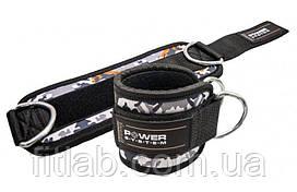 Манжети на лодыжку Power System Ankle Strap Camo PS-3470 Grey/Black