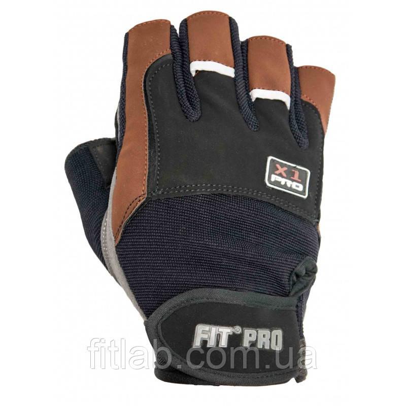 Перчатки для тяжелой атлетики Power System X1 Pro FP-01 XL