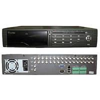 Китайский видеорегистратор гибридного типа: 16 видео-входов, русский интерфейс