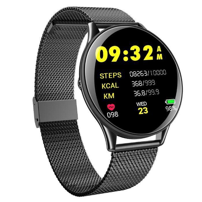 Розумні годинник, смарт годинник Smart E19 Black
