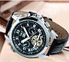 Чоловічі наручні годинники Jaragar Turboulion Silver, фото 5