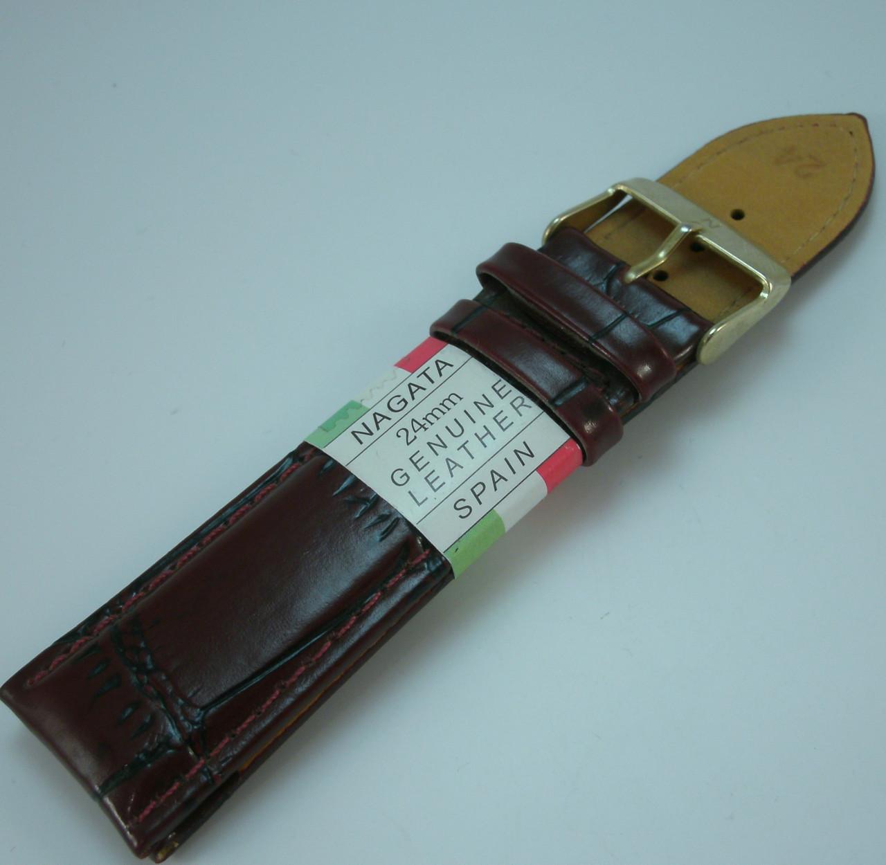 Ремешок для наручных часов  21207 (24 мм) Nagata 11.7+7.7