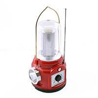 Кемпинговый фонарь радио 5853SY, Power Bank: выручит на природе, когда сел телефон