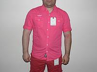 Рубашка мужская Nature розовая