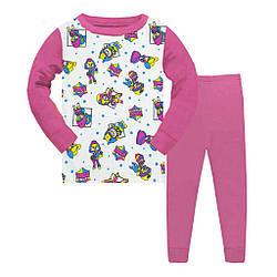 Пижама детская для девочки, демисезонная,  Gupse (размер 4(104))