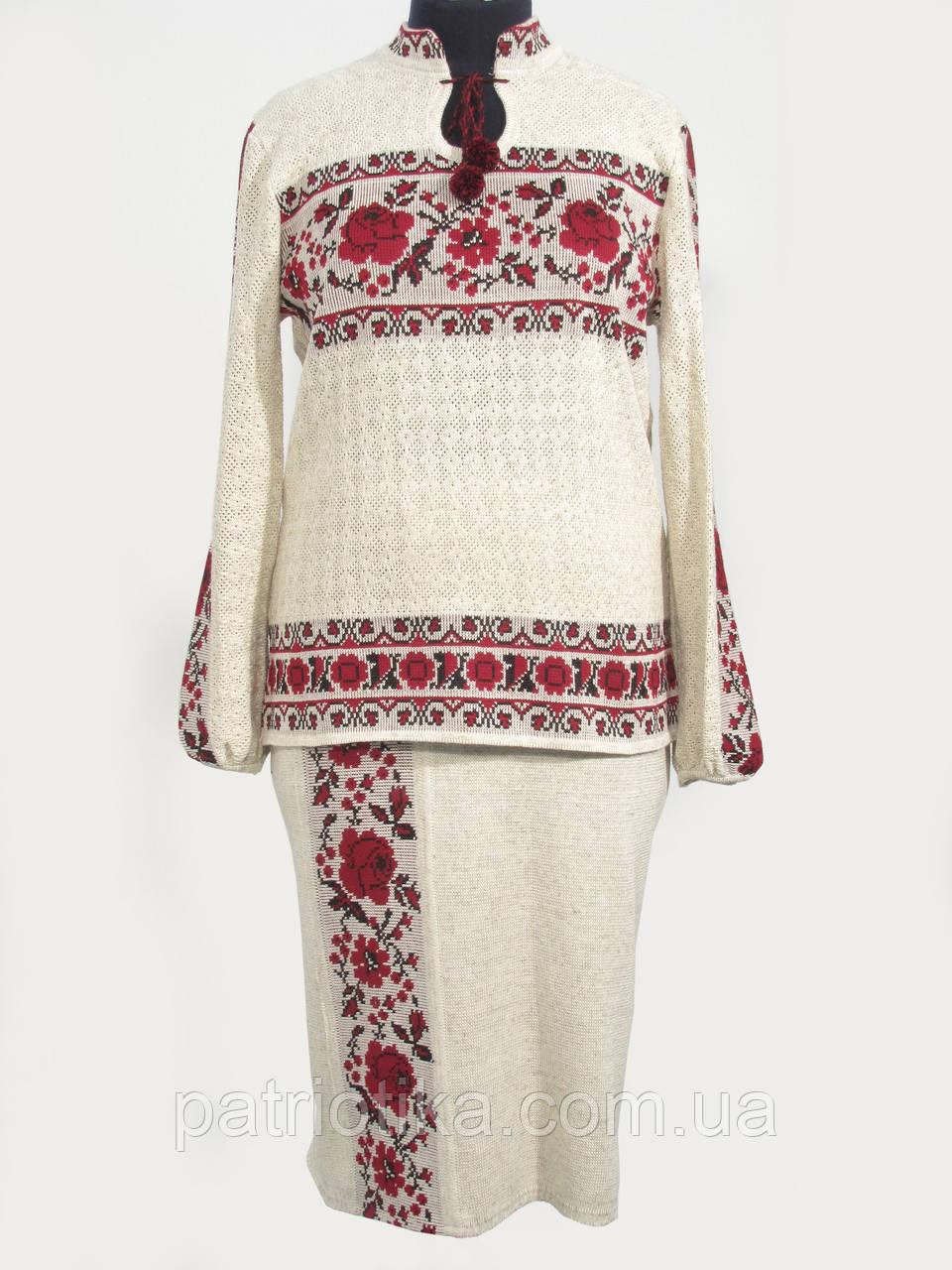 Женский вязаный костюм | Жіночий в'язаний костюм