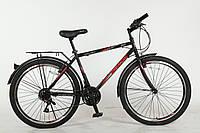Велосипед с бесплатной доставкой SPARK ROUGH 26-ST-20-ZV-V (Черный с красным)