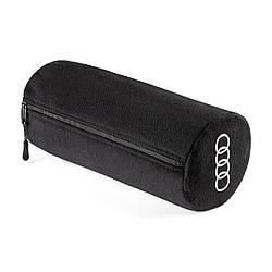 Флісовий плед Audi Fleece Blanket 2 in 1, black, артикул 3291900300