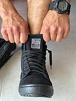 Мокасины мужские черные Litma оптом