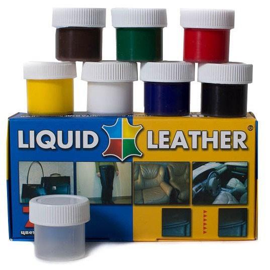 Жидкая кожа Liquid Leather для ремонта набор из 7 цветов T459567