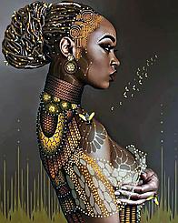 """Набор алмазной вышивки (мозаики) """"Красота Африки"""""""