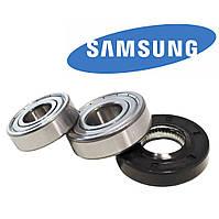 Подшипники SKF 6203+6204 и сальник 25*50.55*10/12 Original для стиральной машины Samsung Diamond