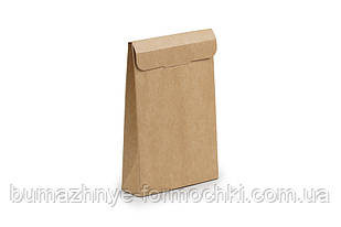 Коробка-саше для батончиків,крафтовий, 100х30х150 мм (10 штук)
