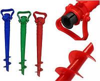 Подставка-держатель для пляжных зонтов(бур), фото 1