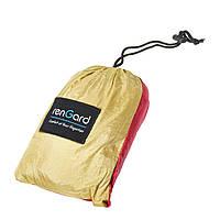 Подвесной гамак для отдыха, цвет Красно-бежевый RenGard 260 х140 см