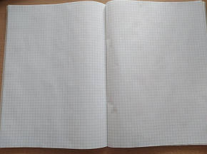 Тетрадь офисная А4,  96л. офсет клетка, фото 2