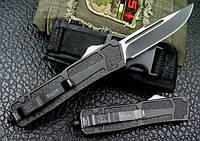 """Выкидной фронтальный нож """"COMBAT"""".  """"Microtech"""" (США)."""