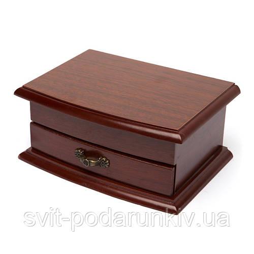Шкатулка для бижутерии деревянная 091015SC