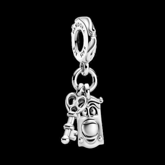 """Срібна намистина Pandora Moments Disney """"Аліса в Країні чудес. Дверна ручка"""" 799344C00"""