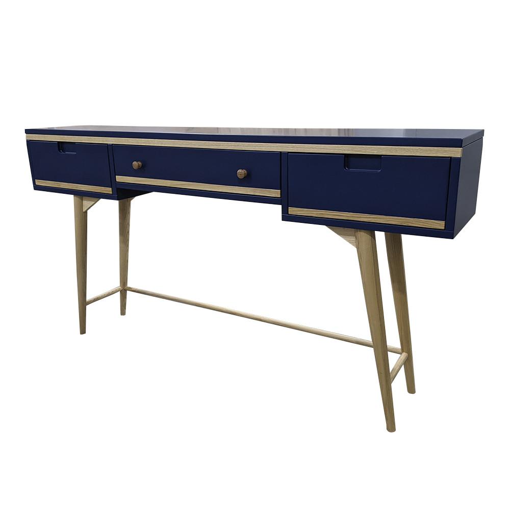 """Дизайнерський стіл в вітальню """"Свіфт"""" з масиву натурального дерева"""