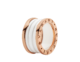 Серебряное кольцо Bvlgari B.ZERO1 345830