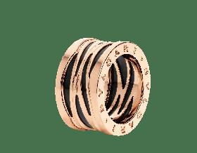 Серебряное кольцо Bvlgari B.ZERO1 356022