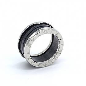 Серебряное кольцо Bvlgari B.ZERO1