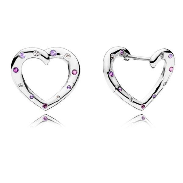 Срібні сережки Pandora 287231NRPMX