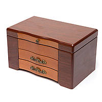 Деревянная шкатулка для украшений AKS08823