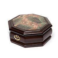Деревянная шкатулка для украшений AS016