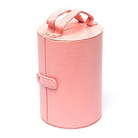 Шкатулка для украшений розовая JS649-3
