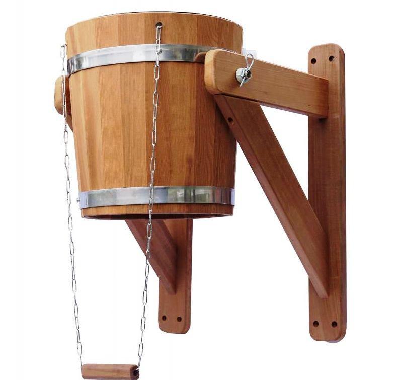 Відро - водоспад зі вставкою з нержавійки 15 л