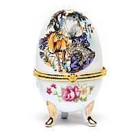 Шкатулка из фарфора №3-1 яйцо