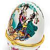 Шкатулка из фарфора №3-2 яйцо, фото 2