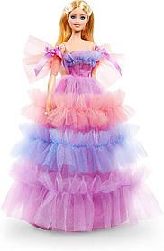 Коллекционная кукла Барби Особенный День рождения 2020 Barbie Birthday Wishes Mattel GTJ85