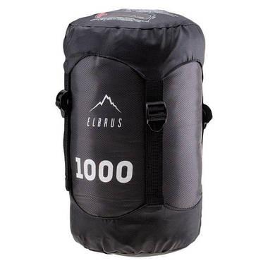 Спальный мешок Elbrus Carrylight 1000 220x80 см Черный, фото 2