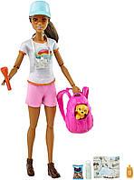 Кукла Барби Активный отдых Туристка с щенком Barbie Hiking, фото 1