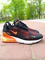 Фирменные мужские кроссовки Nike Air Max 270 мужские кроссовки из текстиля текстильные мужские кроссовки