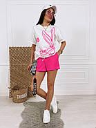 Жіночий костюм з футболкою і шортами, фото 4