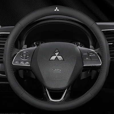 Чехол оплетка Cool на руль для автомобиля Mitsubishi натуральная кожа