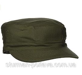 Кепка чоловіча армійська US BDU R/S OLIV колір олива бавовна 100% ріп-стоп Tessar Німеччина - M 57-58
