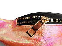 Сумка на пояс-бананка зі штучної шкіри AA008 (29х11х7.5), фото 3