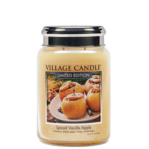 Свеча Village Candle Village Candle Пряное Яблоко с Ванилью 602г время горения до 170 часов