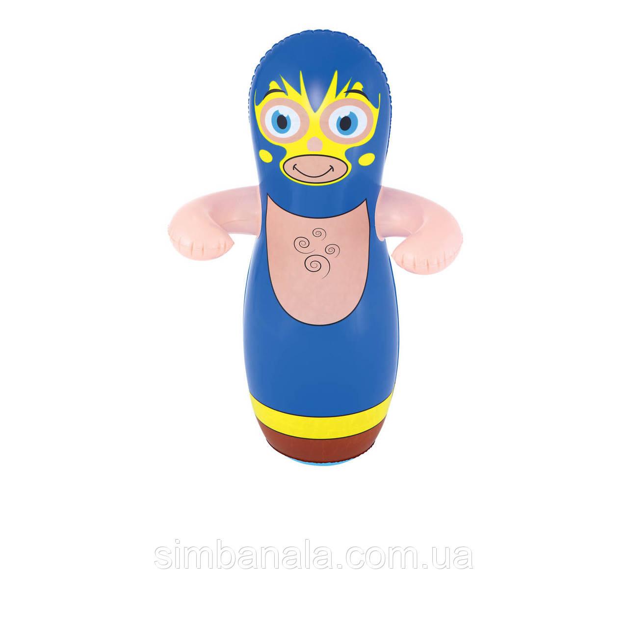 Надувна іграшка - неваляшка Bestway 52193, 91 см, синій